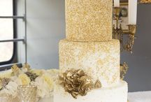 Wedding cake II Gold