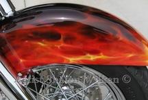real fire art.