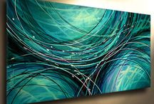 Abstract Paintings / Abstract paintings by other artists that I like or make me feel inspired to paint.