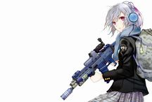 Anime with guns