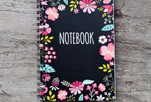 Notebooks and journals / I love writing in a journal, I wish I could make a beatiful art journal like these one day.