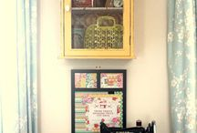 Inspirações para o meu craft room!