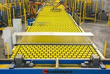 Machinery for glass processing / Machinery and ecquipment for flat glass processing