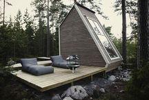 Minimal weekend house
