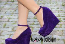Dolgu topuklu ayakkabılar