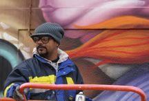 EM AÇÃO / Processo de desenvolvimento das obras do artista plástico e grafiteiro Andre Gonzaga Dalata.