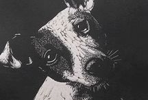 Dogs (art / by Sas V