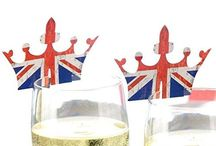 British Theme Party Items