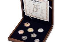 Sady mincí a medailí | Sets of coins and medals