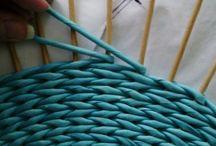 Поворот в плетении