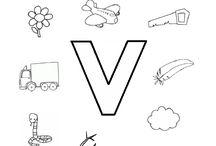 Letters met kleuters / Verschillende werkbladen/ werkvormen met letters en taal voor kleuters