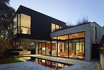 Split level houses
