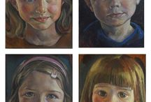 Oil Portraits of Children by living artists
