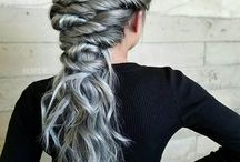 Simple hair updo's