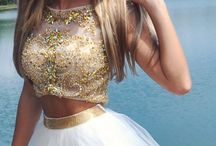 Short prom dresses / Cool