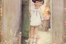Mabel Lucie Atwell / My all time fav kids stories, love these illustrations / by Deirdre Lee