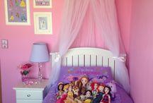 Girly princess bedroom