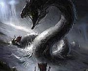 Jörmungandr( Midgard Serpent)