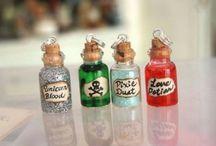 Small bottles diy