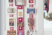 How to display Christmas Cards / Different methods of displaying Christmas  Cards