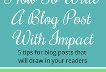 Ideas for a blog / by Angie Shafer-Jarman