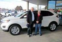 We Love Happy Customers / Happy customers with their new vehicles from Ed Kenley Ford!