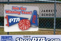 ShopPTA.com - Promote Your PTA Items / Coordinated marketing materials that a PTA or PTSA unit can utilize when advertising for new members.  Value priced posters, banners, lawn signs, buttons and more.