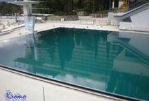 Бассейны в Крыму / Доска для тех, кто хочет построить бассейн в Крыму, кому нужно найти организацию по сервисному обслуживанию бассейнов или кому нужны средства по обработке воды в бассейне.