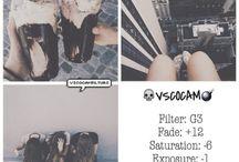 Instagram editing etc