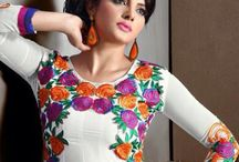 Designer Suits / Jugniji.com : A huge sparkling collection of Indian ethnic wear in our attention-grabbing online showroom whose variety is growing every month. ## http://goo.gl/5KyI28