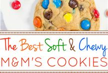Cookies and Bars / Recipes for favorite cookies and bar recipes