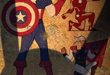 【Avengers】! / After I saw this movie, I am completely in love with it. / by Vita Ma