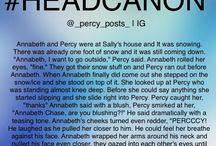 HEADCANONS! / My favorite headcanons from Percy Jackson