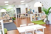 Classroom design spaces / Design classroom