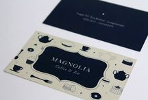 Business Cards / It's smaller than your cubicle and will do more for your career. / by Trista Woods