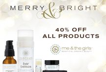 Holiday Sale! / Organic skincare line
