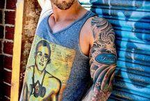 Guy + Sleeve Tattoo = Damn Hot!