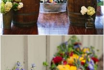 Drinks Station | DIY Cocktail Bars / A DIY Wedding Drinks Station or Cocktail Bar will add an element of Summer to your wedding celebrations. Have you seen our favourite ideas?