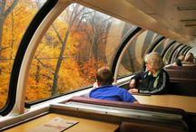 Fall train trip