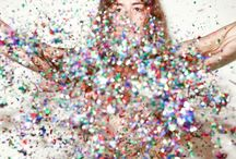 Glitter, Sparkles, Confetti & Bling / All the pretty glittery sparkles! / by Hilary Cam Wedding Photography