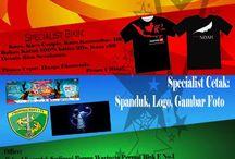 BCTI Production / Tempat Bikin Sablon Kaos Dan Buat Spanduk, Kartu Nama