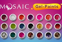 Mosaic Gel Paints