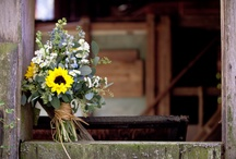 Wedding Flowers / Flowers rustic outdoor country wedding ideas / by The Barn at Cedar Grove, South Central, KY