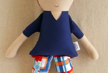 muñecos de trapo/fabric doll
