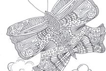 Adult Coloring Pages / Free printable adult coloring pages for those looking to join the craze  #coloring #adultcoloring