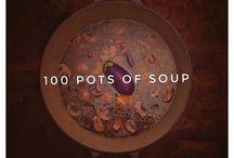 100 pots of soup