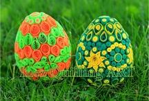 easter / húsvét / quilling / A húsvéttal kapcsolatos quilling-el készült alkotások gyűjteménye.