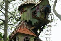Tree houses & fairy living  / by Francena Austin