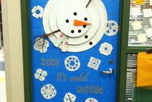 Winter Bulletin Board/Door Ideas