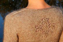 Stricken: einfarbige Pullover